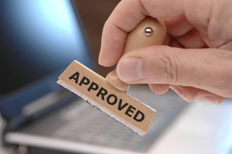 חותמת אישור עקרוני למשכנתא