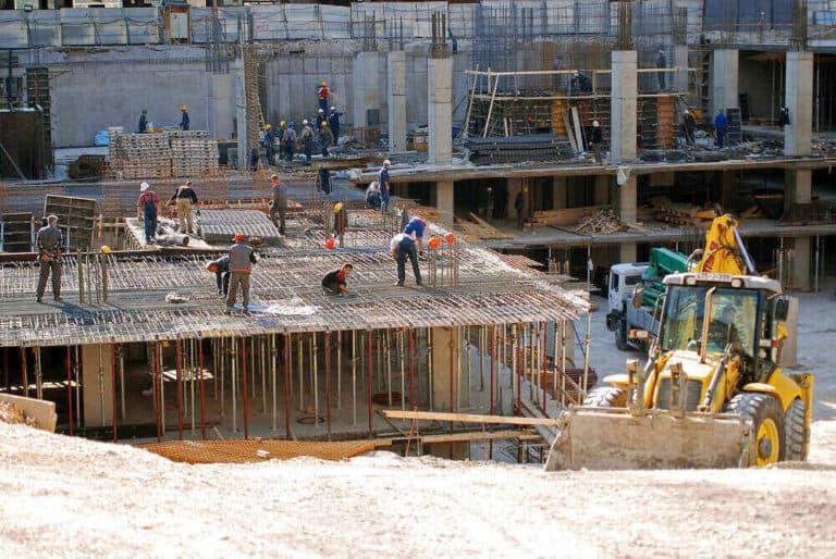 אתר בנייה השפעת מדד תשומות הבנייה